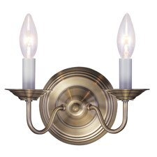 Williamsburgh 2 Light Wall Sconce