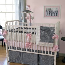 Sophia 3 Piece Crib Bedding Set