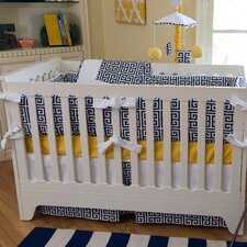 Sam 3 Piece Crib Bedding Set