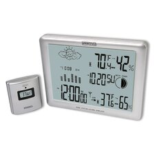 Springfield Deluxe/Jumbo LCD Wireless Weather Forecaster