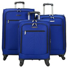 Lightweight 3 Piece Luggage Set