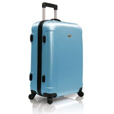 "Freedom Lightweight Hard-shell 25"" Spinner Suitcase in Arctic Blue"