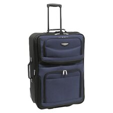 "Amsterdam 25"" Two Tone Expandable Rolling Suitcase"
