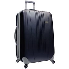 "Toronto 21"" Expandable Hardside Spinner Suitcase in Black"