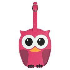 Whoo Owl Luggage Tag