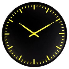 Ultra Flat Swiss Station Wall Clock