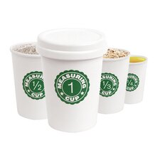 Nesting Coffee Cup Measuring Cup (Set of 4)