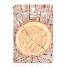 Woodgrain Sticky Notes (Set of 4)