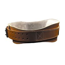 "4.75"" Power Leather Lifting Belt in Natural Leather"