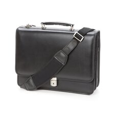 V Series Lexington Leather Laptop Briefcase