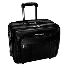 R Series LaSalle  Leather Laptop Briefcase