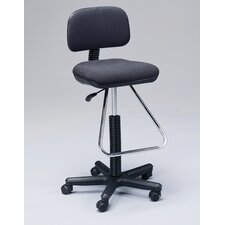 Height Adjustable Drafting Seating with Low Back