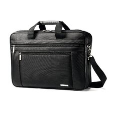 Classic Business Cases Two Gusset Laptop Briefcase
