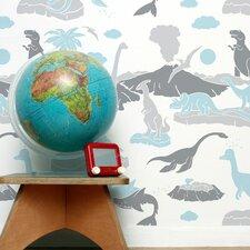 Journey 1' x 8'' Pangea Wallpaper (Set of 2)