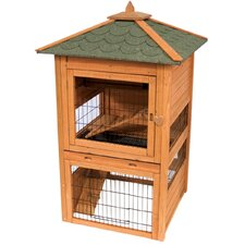 Premium Bunny Cottage Hutch