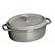 4.25-qt. Cast Iron Oval Dutch Oven