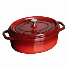 Oval 7 Qt. Cocotte in Cherry