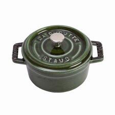 1/4-Qt. Mini Round Cocotte