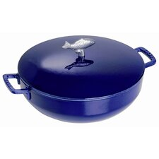 5 qt. Bouillabaisse Pot in Dark Blue