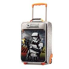 "Disney Star Wars Storm Trooper 18"" Upright Suitcase"