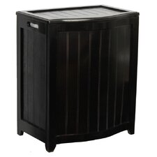 Bowed Front Laundry Hamper