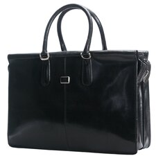 Bella Fellini Italian Leather Briefcase