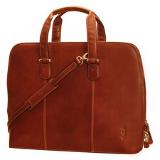 "Italico Classic Ladies 17"" Zip-Around Laptop Tote Bag"