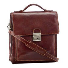 Italico Treviso Carry Leather Briefcase