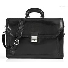 Capri Leather Laptop Briefcase