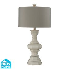 "HGTV Home Modern Heritage 31"" H Table Lamp with Drum Shade"