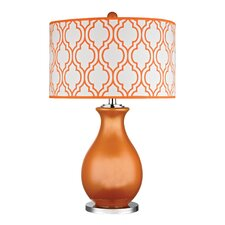 "Eco Friendly 26"" H Table Lamp with Drum Shade"