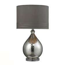 """HGTV Home 24"""" H Table Lamp with Drum Shade"""