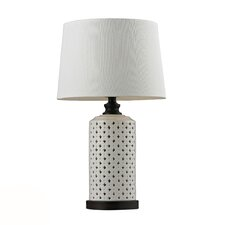 """HGTV Home 23"""" H Table Lamp with Empire Shade"""