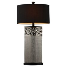 """Bellevue 31"""" H Table Lamp with Drum Shade"""