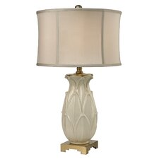"""Leaf 30"""" Table Lamp with Oval Shade"""