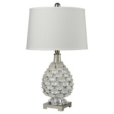 """Hand Formed 30"""" Table Lamp with Empire Shade"""