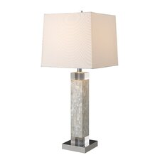 """Luzerne 32"""" H Table Lamp with Square Shade"""