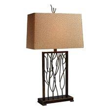 "Legacies Belvior Park 33"" H Table Lamp with Rectangular Shade"
