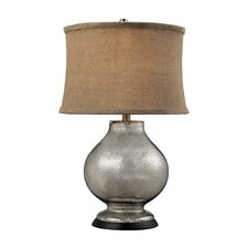 """Antler Hill 25"""" H Table Lamp with Oval Shade"""