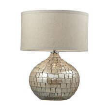 """Canaan 25"""" H Table Lamp with Drum Shade"""