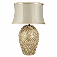 """Pineville 30"""" H Table Lamp with Oval Shade"""