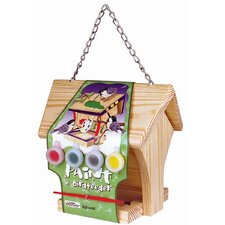 Paint-A Hopper Bird Feeder