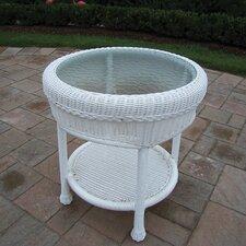 Resin Wicker Side Table