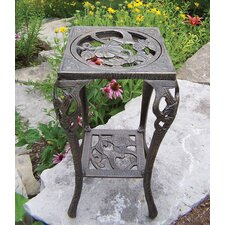 Hummingbird Table Square Stand Planter