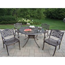 Capitol Mississippi 5 Piece Dining Set