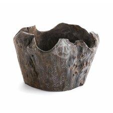 Driftwood Round Pot Planter