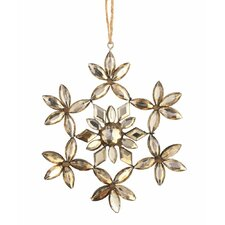 Trousseau Vintage Jeweled Snowflake Ornament (Set of 4)
