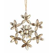 Trousseau Vintage Jeweled Snowflake Ornament (Set of 4)