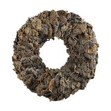 """Sierra Lodge Preserved 18"""" Lichen Wreath"""
