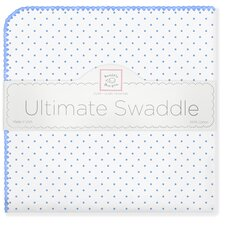 Ultimate Receiving Blanket® in Polka Dots